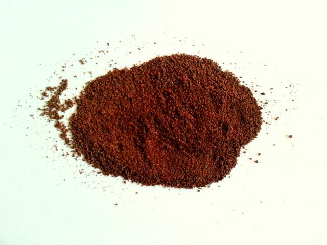 Pumpkin Spice Coffee Grounds