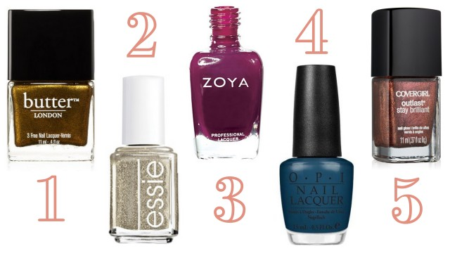 Thanksgiving Nail Polish Picks