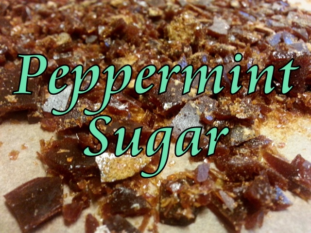 Peppermint Sugar